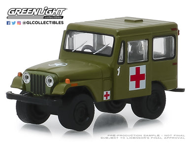 GreenLight 1/64 1976 Jeep DJ-5 - Medical Unit 30051