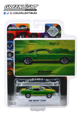GreenLight 1:64 BFGoodrich Vintage Ad Cars - 1966 Shelby GT350 When You are Ready to Get Serious 30060