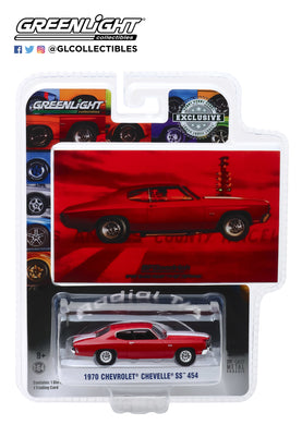 GreenLight 1:64 BFGoodrich Vintage Ad Cars - 1970 Chevrolet Chevelle When You are Ready to Get Serious 30061