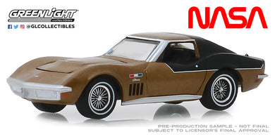 GreenLight 1:64 NASA Apollo XII Astronaut s 1969 Chevrolet Corvette AstroVette 30073