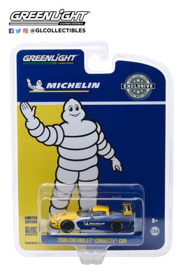 GreenLight 1:64 2009 Chevrolet Corvette C6.R Michelin Tires 30074
