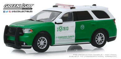 GreenLight 1:64 2018 Dodge Durango Police - Carabineros de Chile 30079