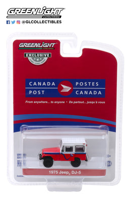 GreenLight 1:64 Canada Post 1975 Jeep DJ-5E Electruck 30083