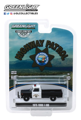 GreenLight 1:64 1975 Ford F-100 - California Highway Patrol 30085