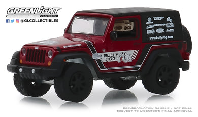 GreenLight 1/64 2012 Jeep Wrangler - Bully Dog 30086