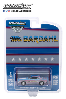 GreenLight 1:64 Bardahl - 1967 Chevrolet Camaro - Bill Hielscher s Mr. Bardahl 1967 Camaro (Hobby Exclusive) 30095