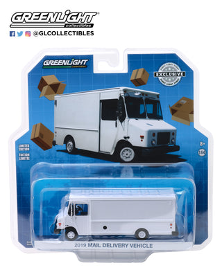 GreenLight 1:64 2019 Mail Delivery Vehicle - White 30097