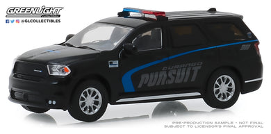 GreenLight 1:64 2019 Dodge Durango Pursuit Police SUV - Black 30098