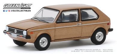 GreenLight 1:64 1977 Volkswagen Rabbit - The Champagne Edition (Hobby Exclusive) 30099