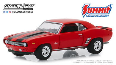 GreenLight 1:64 1969 Chevrolet Camaro - Since 1968 Summit Racing Equipment - Home of Performance 30107
