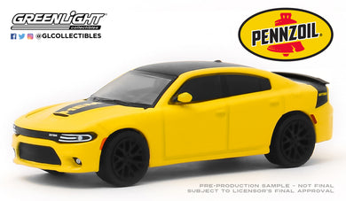 GreenLight 1:64 2017 Dodge Charger Daytona HEMI - Pennzoil Advertisement Car 30112