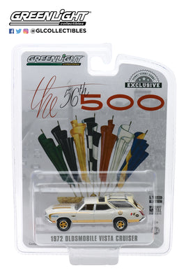 GreenLight 1:64 1972 Oldsmobile Vista Cruiser 56th Annual Indianapolis 500 Mile Race Official Press Car 30114