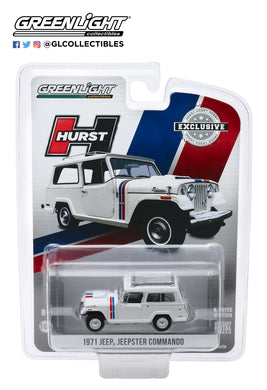 GreenLight 1:64 1971 Jeep Jeepster Commando - Hurst Edition 30115
