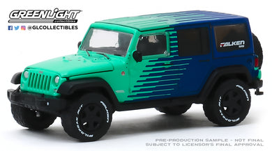 GreenLight 1:64 2017 Jeep Wrangler Unlimited - Falken Tires (Hobby Exclusive) 30124