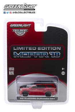GreenLight 1:64 2018 Dodge Durango SRT - Limited Edition MOPAR 18 - Octane Red (Hobby Exclusive) 30131