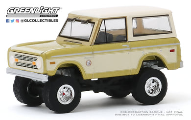 GreenLight 1:64 1976 Ford Bronco - Colorado Gold Rush Bicentennial Special Edition (Hobby Exclusive) 30135