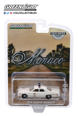 GreenLight 1:64 1975 Dodge Monaco - Hazzard County Sheriff (Hobby Exclusive) 30140
