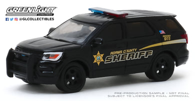 GreenLight 1:64 Hot Pursuit - 2017 Ford Police Interceptor Utility - Adams County, Washington Sheriff s Office (Hobby Exclusive) 30142