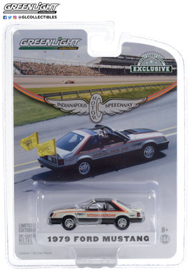 GreenLight 1:64 1979 Ford Mustang 63rd Annual Indianapolis 500 Mile Race Official Pace Car 30166