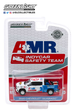 GreenLight 1:64 2020 Chevrolet Silverado - 2020 NTT IndyCar Series AMR Safety Team with Safety Equipment in Truck Bed 30179