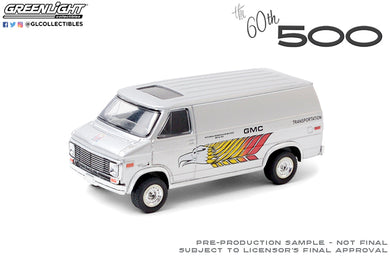 GreenLight 1:64 1976 GMC Vandura - 60th Annual Indianapolis 500 Mile Race GMC Transportation 30198