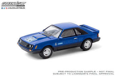 GreenLight 1:64 1979 Ford Cobra T5 - Blue Glow 30205