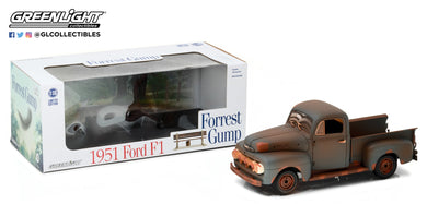 GreenLight 1/18 1951 Ford F-1 Truck Run Forrest Run Forrest Gump 12968
