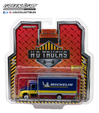 GreenLight 1/64 H.D. Trucks Series 12 - 2013 International Durastar Box Van Michelin Tires Michelin Man 33120-C