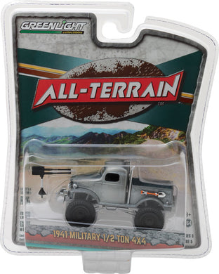 GreenLight 1/64 All-Terrain Series 5 - 1941 Military 1/2 Ton 4x4 Pickup Truck 35070-A