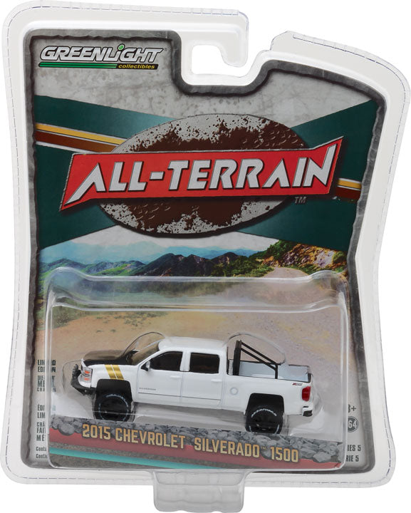 GreenLight 1/64 All-Terrain Series 5 - 2015 Chevrolet Silverado 35070-E