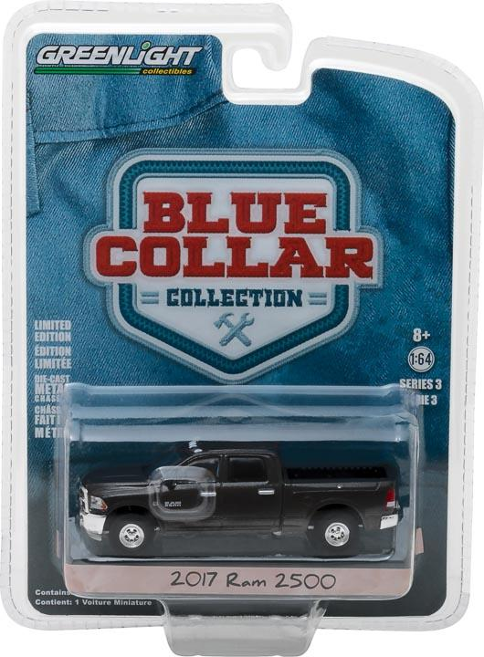 GreenLight 1/64 Blue Collar Collection Series 3 - 2017 Dodge Ram 2500 35080-F