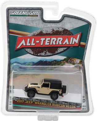 GreenLight 1/64 All-Terrain Series 6 - 2017 Jeep Wrangler Rubicon Recon 35090-E