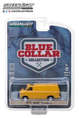 GreenLight 1/64 Blue Collar Collection Series 4 - 1972 GMC Vandura 35100-C