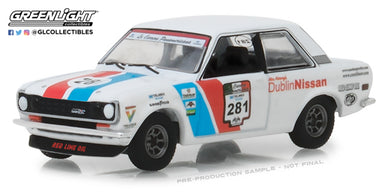 GreenLight 1/64 All-Terrain Series 7 - 1972 Datsun 510 La Carrera Panamericana #281 Dublin Nissan 35110-A