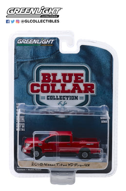 GreenLight 1/64 Blue Collar Collection Series 5 - 2018 Nissan Titan XD Pro-4X 35120-F