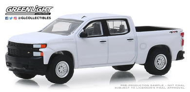 GreenLight 1:64 Blue Collar Collection Series 6 - 2019 Chevrolet Silverado 1500 WT 35140-F