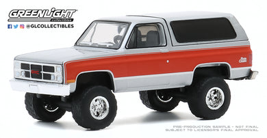 GreenLight 1:64 All-Terrain Series 10 - 1984 GMC Jimmy (Lifted) 35170-D