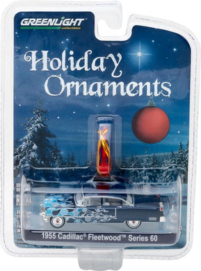 GreenLight 1/64 GreenLight Holiday Ornaments Series 2 - 1955 Cadillac Fleetwood Series 60 37120-A