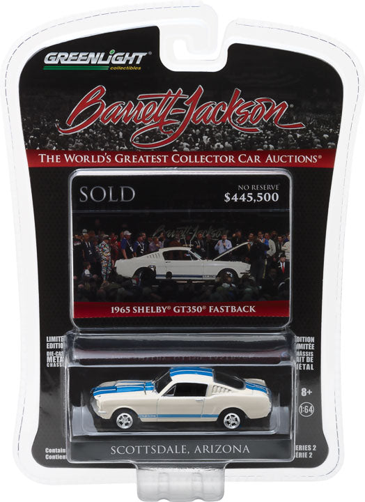 GreenLight 1/64 Barrett-Jackson 'Scottsdale Edition' Series 2 - 1965 Shelby GT350 Fastback 37130-A