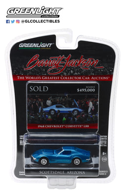 GreenLight 1/64 Barrett-Jackson 'Scottsdale Edition' Series 3 - 1968 Chevrolet Corvette L88 (Lot #1418) 37160-B