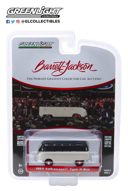 GreenLight 1:64 Barrett-Jackson Scottsdale Edition Series 4 - 1965 Volkswagen Type II 21-Window Deluxe Bus (Lot #1315) 37180-B