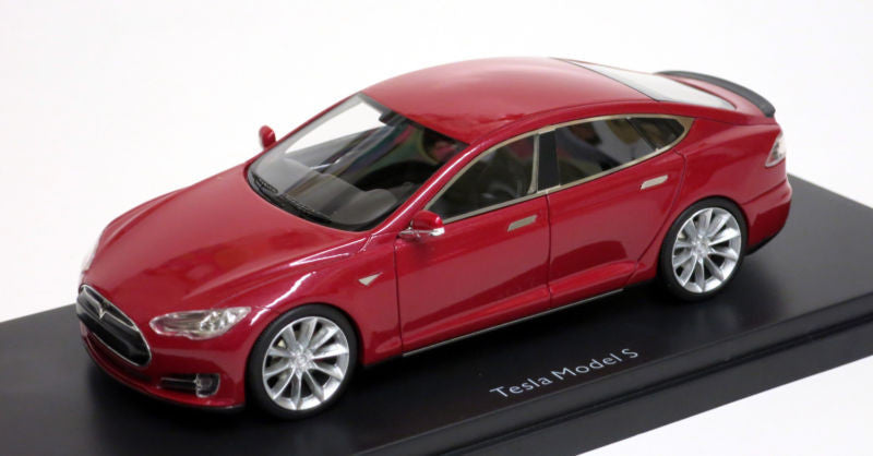 Schuco 1/43 Tesla Model S Red 450897000