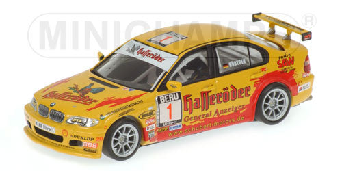 Minichamps 1/43 BMW 320I Team Schubert Motors DMSB 2004 #1 400042401
