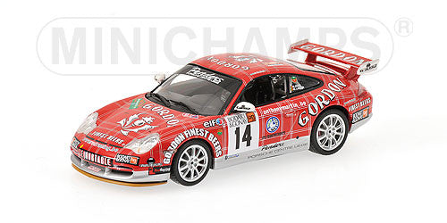Minichamps 1/43 Porsche 911 GT3 RS Class Winners Ardenne Bleue Rally 2006 #14 400066214