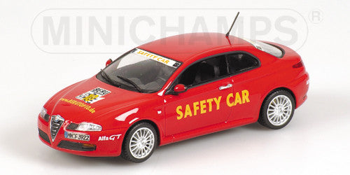 MINICHAMPS 1/43 ALFA ROMEO GT BERU TOP 10 ´SAFETY CAR´ 2004 400120360