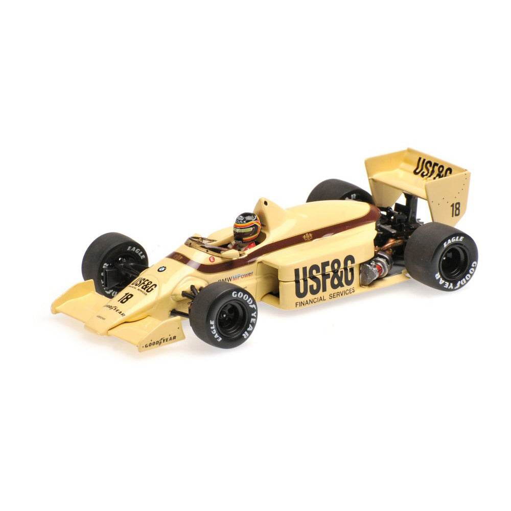 Minichamps 1/43 Arrows BMW A8 British GP 1986 Boutsen #18 THIERRY BOUTSEN 400860018