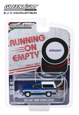 GreenLight 1:64 Running on Empty Series 9 - 1983 GMC Jimmy Sierra Classic - BFGoodrich 41090-F