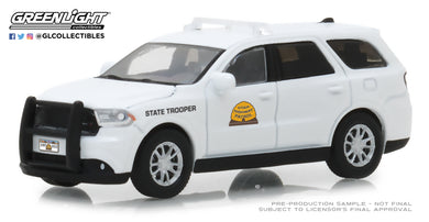 GreenLight 1/64 Hot Pursuit Series 29 - 2017 Dodge Durango - Utah Highway Patrol 42860-E