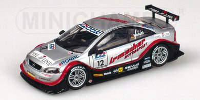 Minichamps 1/43 OPEL V8 Coupe DTM 2000 #12 Team Irmscher C.menzel 430004812