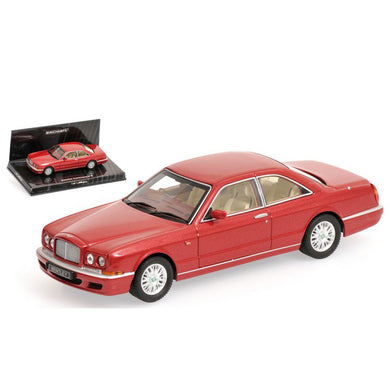 MINICHAMPS 1/43 BENTLEY CONTINENTAL R - 1996 - RED METALLIC L.E. 1488 pcs. 436139920